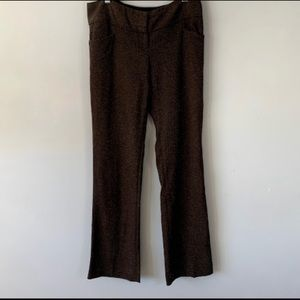 The Limited Collection Drew Fit Pants Brown Sz 4R